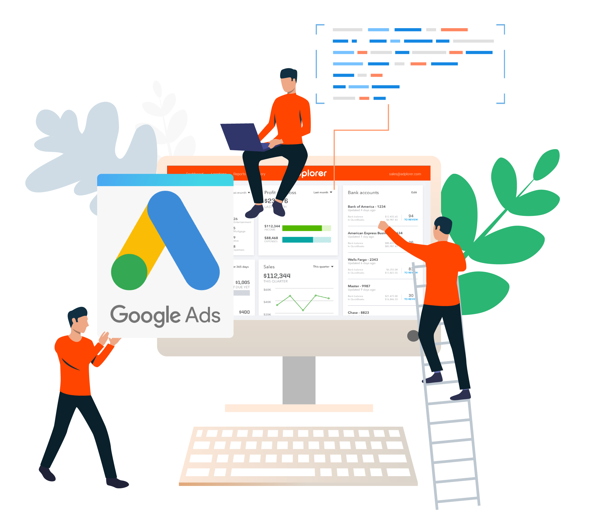 Build campaigns on google Ads